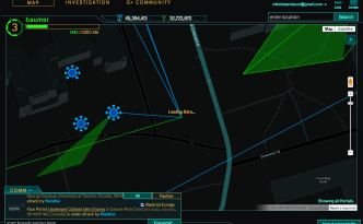 Ingress User Screen