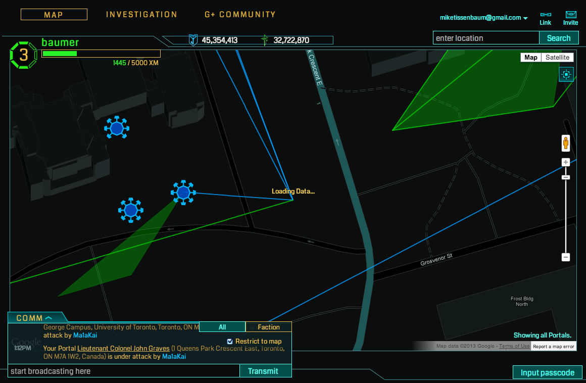 Ingress – Finally doing augmented reality right and what it means for education